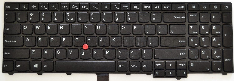LI206 Key for keyboard Lenovo Thinkpad W540 W541 W550s P50 T550 T540 T540p T560