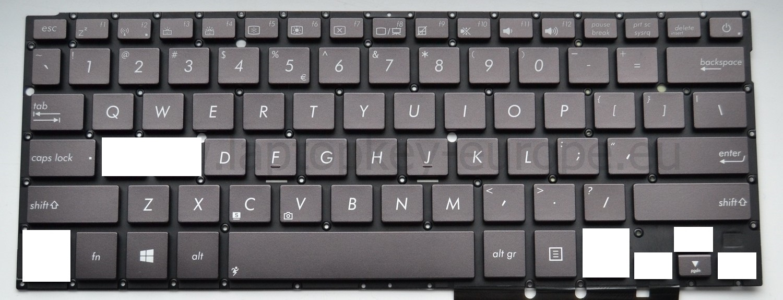 AS74 Key for keyboard Asus Zenbook UX32 UX32A UX32VD UX31 UX31A UX31E UX31LA